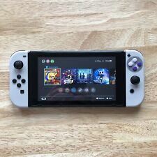 Nintendo Switch Console w/ Custom Joycon and an original charger