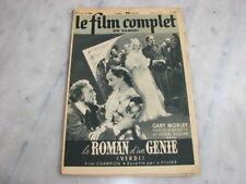 *** Film Complet n° 2494 (31/05/1941) - Le Roman d'un Génie