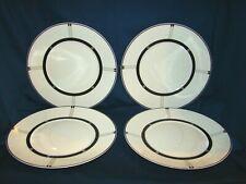 Bernardaud Limoges Wiener 4 Dinner Plates