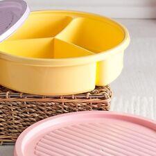 1.2 L pasto Prep ROUND 3 vano contenitore per cibo/pranzo Box colori assortiti