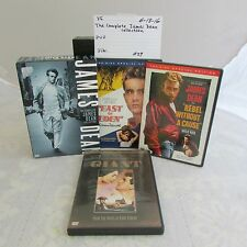 The Complete James Dean Collection DVD box set-East of Eden,Giant,Rebel 0613