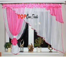 Amazing Voile Net Curtains Ready Made Modern Living Dining Room Bedroom New