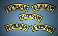 5 Lot Brazil Brazilian Jiu Jitsu Grappling Martial Arts Mma Uniform Patches 467