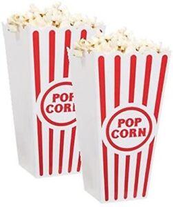 Popcorn Holder 2 Pc. Set NEW