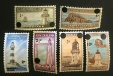 New Zealand Life Insurance Stamps Oy37-Oy42 Complete Nh