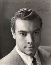 Mario LANZA (Tenor): Signed photograph
