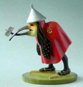 Pocket Art Museum Miniature Sculpture Bird with Letter Hieronymus Bosch Statue
