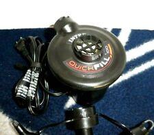 Intex Quick Fill 100 Electric Air Pump AC 120 Volt with Nozzles, AP619-III