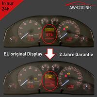Audi A6 S6 4B FIS Display MFA Pixelfehler Reparatur Tacho Kombiinstrument defekt