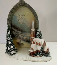 Thomas Kinkade - Moonlit Village - Windows of Prayer Collection #0136A