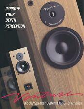 Bic Venturi Bipolar Original Speaker Brochure V604, V504