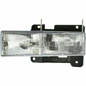 New Driver/Left Side DOT/SAE Headlight For Chevrolet C3500HD 1991-2002