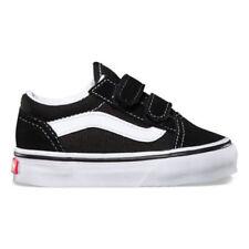 Vans Old Skool V VN000D3YBLK Black Suede Baby Toddler Shoes 3c9cb324f77
