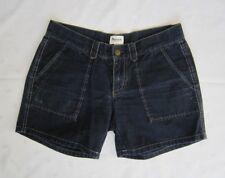Madewell by J. CREW Cargo Style Dark Wash Denim Women's Shorts Size 28 Flawless!