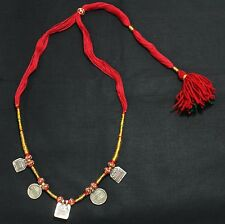 SILVER AMULET NECKLACE OF SOUTH INDIAN GODDESS PRINT ON 5 AMULET EBAY NO. 86