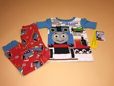 Thomas & Friends Toddler Boy Short Sleeve Shirt & Pants Pajamas New 4T
