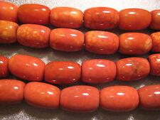 Tibet Agate Bead Barrel 13pcs