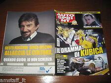 AUTOSPRINT 2011/6=ROBERT KUBICA DRAMMA=PAGANI HUAYRA=TARGA FLORIO=