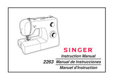 Singer 2263 Zig-Zag Sewing Machine Owner's MANUAL ON CD