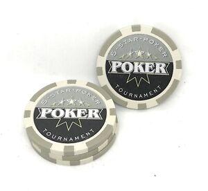 "Pokerchips ""5-Star Tournament"" 50 Stück Poker Chips"