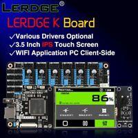 LERDGE 3D Printer Board ARM 32Bit Controller Motherboard 3.5 inch Kit Diy parts