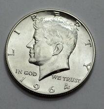 1964-D MS/UNC  KENNEDY HALF DOLLAR  50c , 90% Silver US Coin !!!