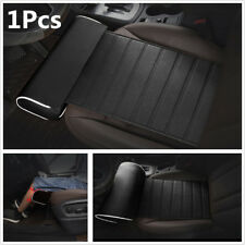 Black Leather Car Seat Cushion Leg Support Pillow Cushion Knee Pad Thigh Support