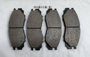 Mitsubishi L200 Delica Space 1996-2010 Brake Pads 138x49x16mm Milner 004008