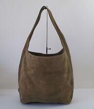Michael Kors Lena Suede Large Shoulder Tote Handbag