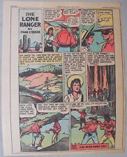 Lone Ranger Sunday Page by Fran Striker and Charles Flanders from 12/12/1943
