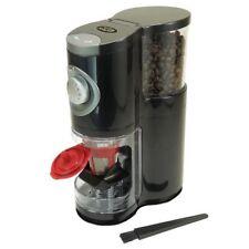 Coffee Bean Roaster Burr Grinder w/ Doser Chrome Black Roasting Home Automatic
