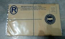 Straits Settlement Malaya Registration Unused Letter Envelope 20 cents jawi word