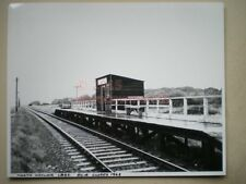 PHOTO  10 X 8 INCHES - SR LBSC NORTH HAYLING RAILWAY STATION CLOSED 1963