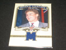 ERIC LINDROS LEGEND GENUINE CERTIFIED AUTHENTIC GAME USED HOCKEY JERSEY CARD