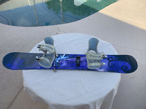 Sims snowboard 149 Mystique 5150 Bindings Empress Women's