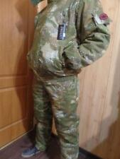RUSSIAN WINTER MILITARY UNIFORM JACKET FISHING HUNTING TRAVEL -20C CAMOUFLAGE