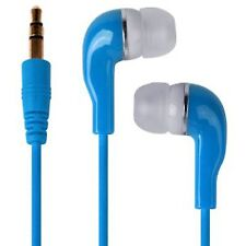 Blue Ultra Bass Super Sound Earbud Earphones For Samsung Galaxy S6 Edge
