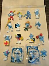 MCDONALD'S 2011 SMURFS I COMPLETE SET IN EXCELLENT CONDITION