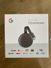 Google Chromecast 3rd Generation Media Streamer for TV - Charcoal