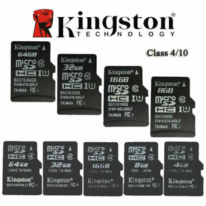 Kingston 4GB 8GB MICRO SD C10 C4 SDHC TF Memory Card Micro SD for Phone camera