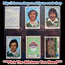 ☆ Panini Football 79  (Cards 500 to 594) (G) ***Pick the Stickers You Need***