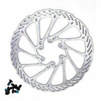1x 160mm Bicycle Disc Brake Rotor MTB For Mountain Bike Shimano Sram + 6 Bolt #j