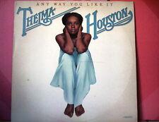 HOUSTON THELMA LP any way you like it ITALY EX+/EX (VINYL)