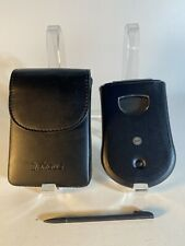 Palm Pilot M100 With Stylus Pda Handheld Personal Assistant Black With Case