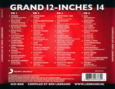 Ben LiebrandGrand 12-Inches Volume 14 - 4 CDBox2016 40 Versions MAXI DANCE
