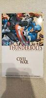Heroes For Hire Thunderbolts Civil War Brand New Tpb Marvel Comics