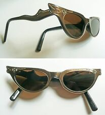 1950s occhiali da sole Frame France vintage sunglasses cat eye