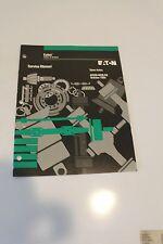Eaton Axles & Brakes Service Manual - Steer Axles