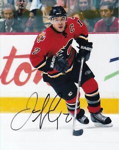 Jarome Iginla #0  8x10 Signed Photo w/ COA Calgary Flames