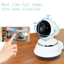 Wireless WIFI Webcam Pan Tilt 720P Network CCTV Security IP Camera Night Vision